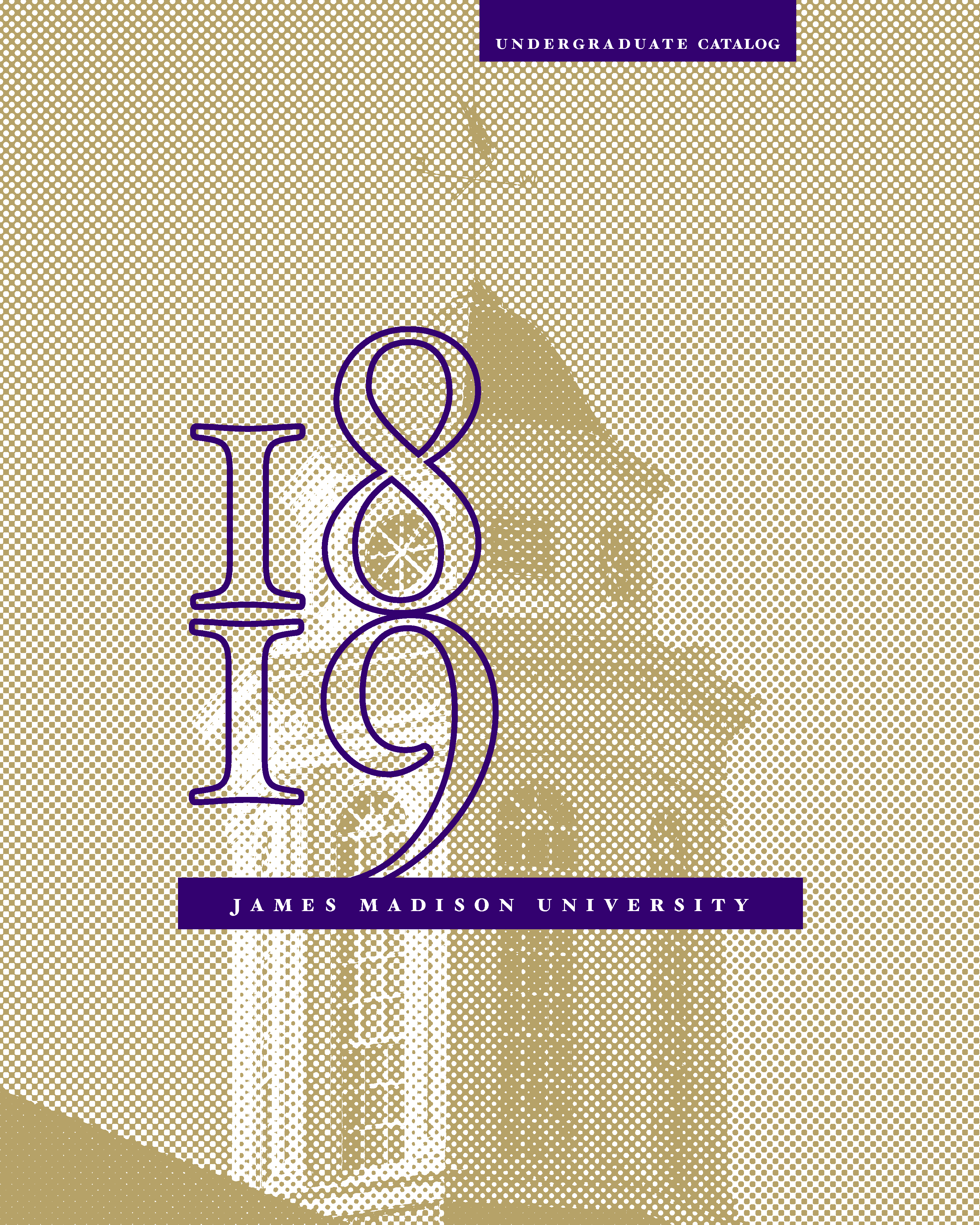 2018-2019 Undergraduate Catalog Cover
